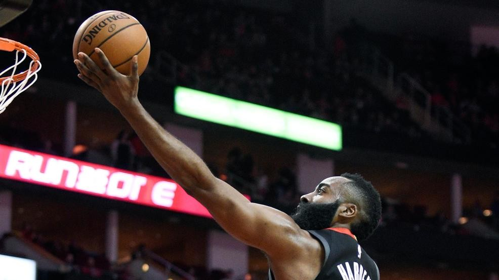 5a28f38d80a Harden has triple-double to lead Rockets over Cavs 141-113