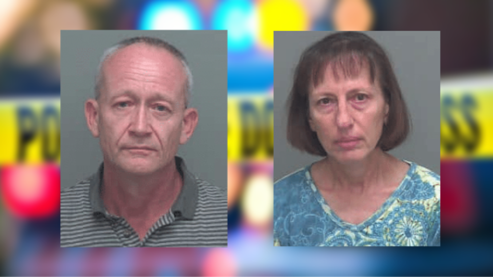 Florida 'doomsday prepper' couple charged with sexually