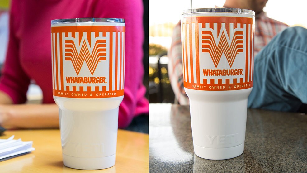 e046def15b0 Whataburger partners with YETI to release branded tumblers | KEYE