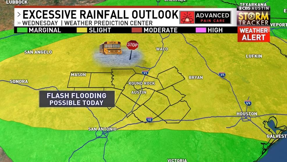 Severe storms, flooding possible today | KEYE