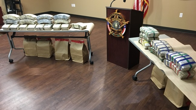 Sheriff: WilCo deputies make one of the largest meth busts