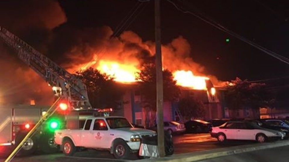 Six Injured One Critically In San Marcos Apartment Complex Fire